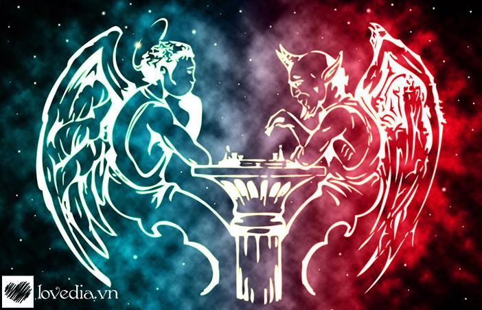 Kết quả hình ảnh cho thiên thần và ác quỷ